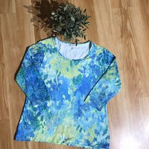 Woman's Coldwater Creek Top Size 14